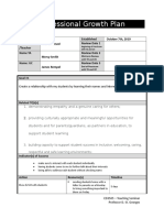 jarred wenzel professional growth plan - template