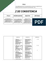 Matriz de Consistencia Docx