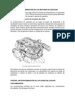 Anticontaminación en Los Motores de Gasolina