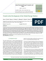 Trends in the Development Energy Market
