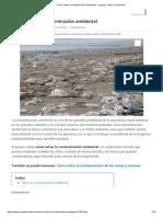 Cómo Evitar La Contaminación Ambiental