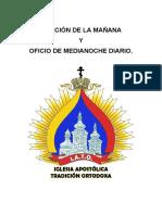 Oración de La Mañana y Oficio de Medianoche Diario