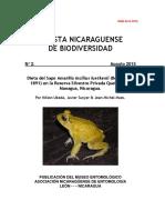 2015 Ubeda Et Al_Incilius Luetkenii_Diet_Revista Nicaraguense de Biodiversidad 2-1-57