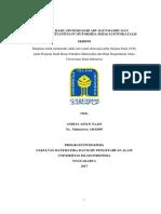 Tio 2 -Sio 2 Hasil Sintesis Dari Abu Daun Bambu Dan Prekursor Titanium (IV) Butoksida Sebagai Fotokatalis Skripsi