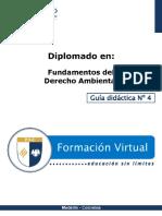 Guia Didactica 4-DA Código de Recursos Naturales y Régimen de Protección Sistema Nacional Ambiental