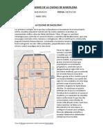 Urbanismo de La Ciudad de Barcelona