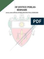 J. Bernabe Case Digests Legal Ethics