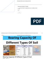 Bearing Capacity of Different Types of Soil _ Engineering Discoveries