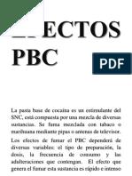 Efectos Pbc