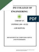 CS09 607(P)_ Systems Lab-OS(a)