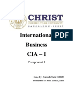 International Business Article Review