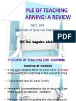 Principleofteachingandlearning Review 170213103548