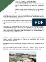 4.4 Chennai Waterways, Storm Water Management