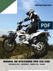 AJP MOTOS - PR4 Manual do Utilizador