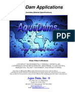 AquaDam Applications