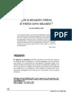 de la educación médica al médico como educador.pdf