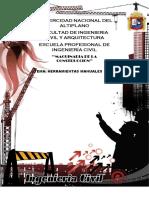 Herramientas Manuales Para La Construccion