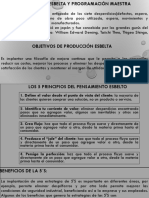 PRODUCCIÓN ESBELTA Y PROGRAMACIÓN MAESTRA.pptx