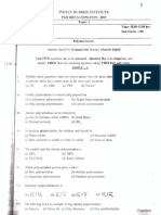 PGD-IRI Question Paper 2015