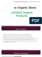 Certified Organic Online Store India