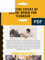 Negative effect of social media for teenager.pptx