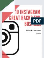 10 Instagram Great Hacks for Business