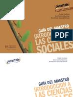 Ciencias sociales Guía Docente