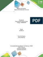Informe de Practica de Sistema de Produccion Cunicola.
