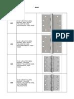 Door Hardware Catalog