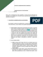 Organización & Administración de Empresas I.