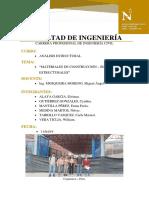 TRABAJO N° 01 - ANÁLISIS ESTRUCTURAL