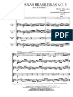 Bachianas Brasileiras No. 5 Score Frank Bongiorno