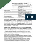 1. Contrato Por Obra Labor Director de Proyecto