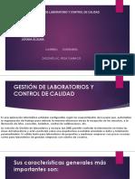 GESTION DE LABORATORIO