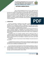 Estudio Hidrológico - Jaén