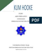 Hukum hooke (praktikum fisika)