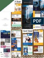 Aula de Cultura de Murcia. Programación Diciembre y Navidad 2019. Fundación Caja Mediterráneo