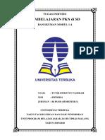 pembelajaran Pkn Di Sd Resume Modul 1-4