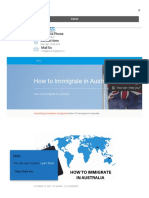 How to Immigrate in Australia