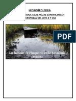 Hidrogeologia Lotes 8 y 1ab