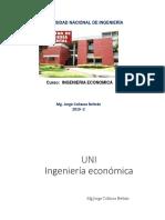 Sesion 13 Ingenieria Economica