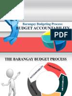 The Barangay Budget Process