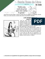 Ficha Santa Rosa de Lima. 3ro. Primaria (2)
