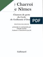Le Charroi de Nîmes - Bilingue Ancien Francais