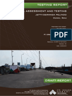 Report Structural Assessment and Testing Jetty Dumai rev (Belum Analisis).pdf