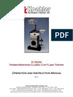 Manual Chispometro K162XX