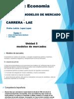 Clase Economia Modelos de Mercados