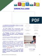 PLC LOGO de Siemens Teoria y Practicas