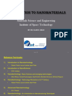 Introduction to NanoMaterials Fsgesth