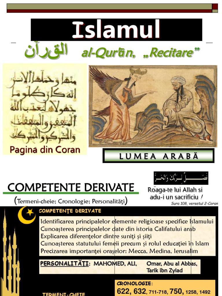 islamul și dating)